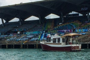 Shearwater at Marine Stadium