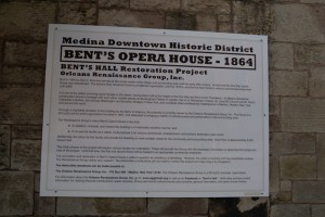 Medina Opera House Restoration