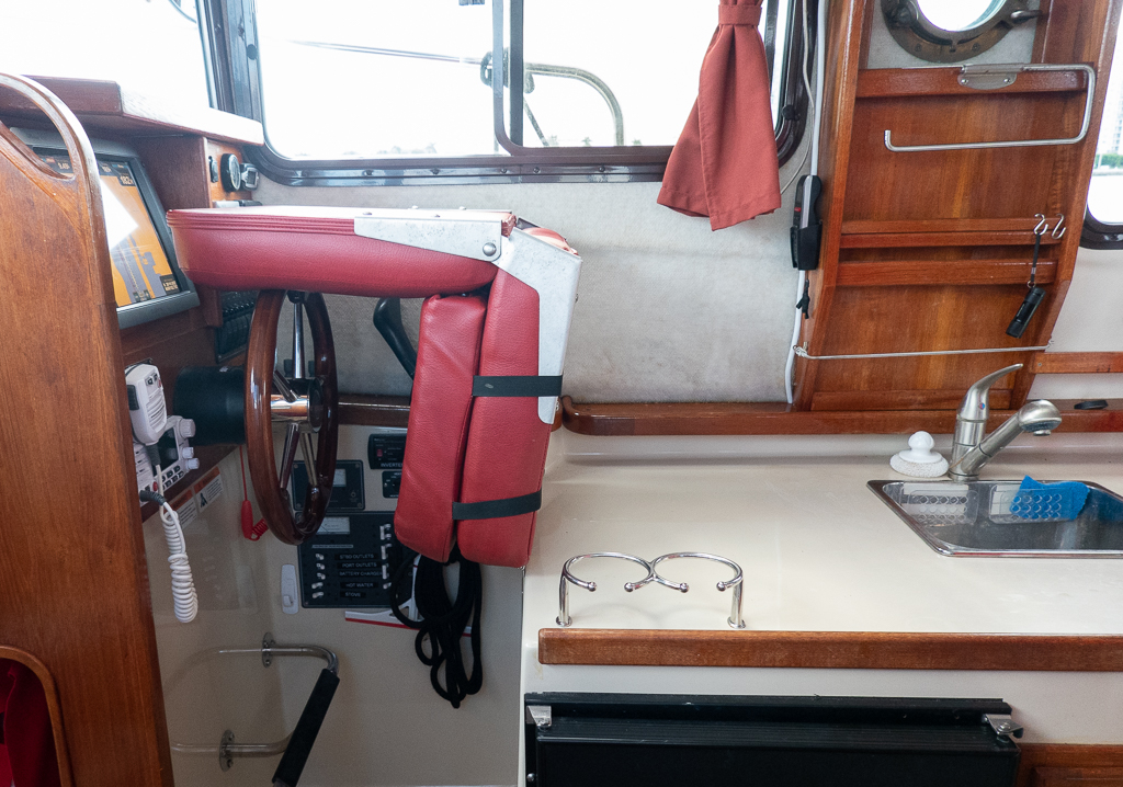 Interior Views and 2018 Refit – Shearwater IV