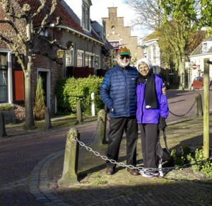 Joan and Stu in Leyden Holland